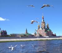 Мальцева-Екатерина-Храм-и-птицы